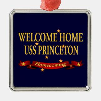 Welcome Home USS Princeton Metal Ornament