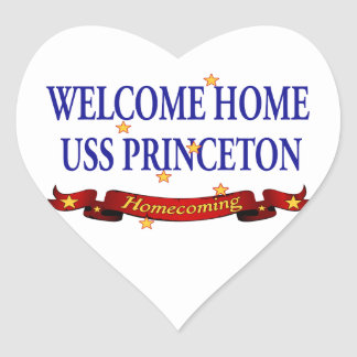 Welcome Home USS Princeton Stickers