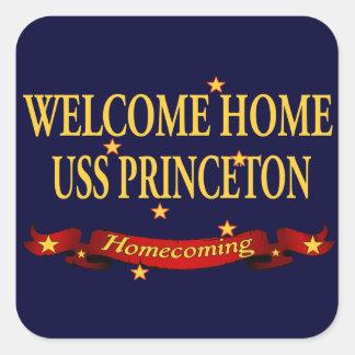 Welcome Home USS Princeton Sticker