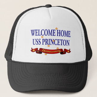 Welcome Home USS Princeton Trucker Hat