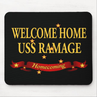 Welcome Home USS Ramage Mouse Pad