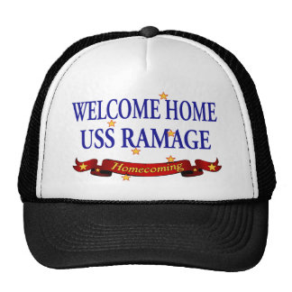 Welcome Home USS Ramage Trucker Hat