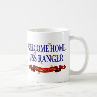 Welcome Home USS Ranger Coffee Mug