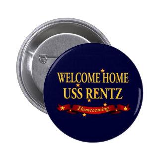 Welcome Home USS Rentz Button
