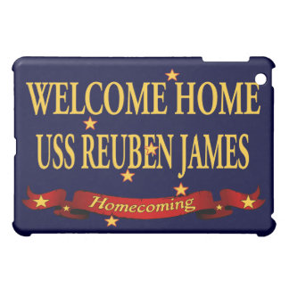 Welcome Home USS Reuben James iPad Mini Case