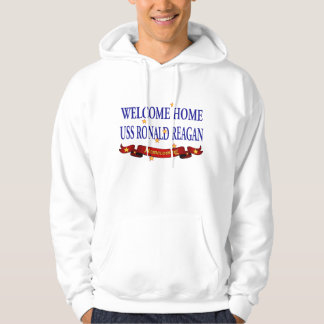 Welcome Home USS Ronald Reagan Hoodie