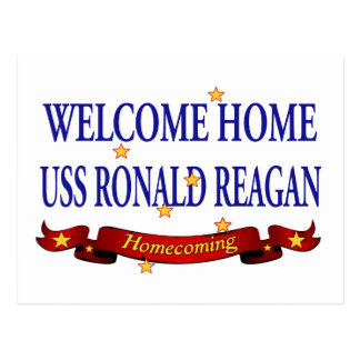 Welcome Home USS Ronald Reagan Postcard
