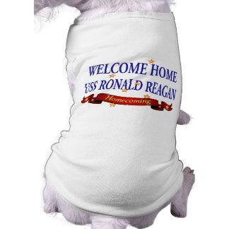 Welcome Home USS Ronald Reagan Tee