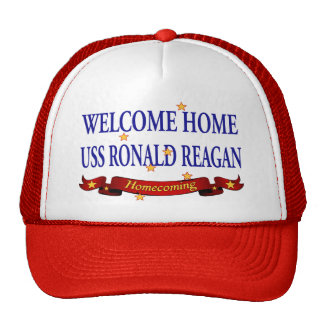 Welcome Home USS Ronald Reagan Trucker Hat