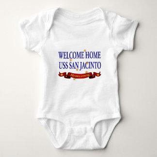 Welcome Home USS San Jacinto Baby Bodysuit