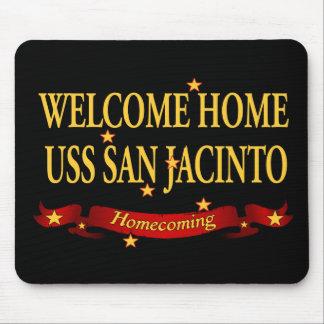 Welcome Home USS San Jacinto Mouse Pad