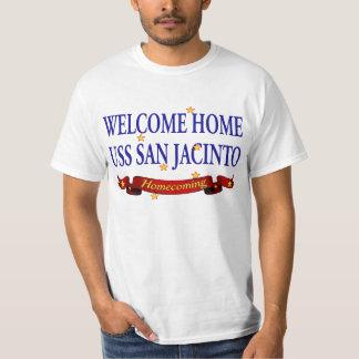 Welcome Home USS San Jacinto T-Shirt