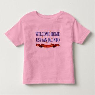 Welcome Home USS San Jacinto Toddler T-shirt