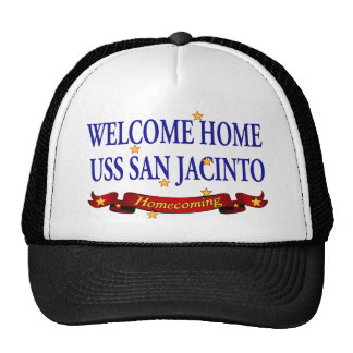 Welcome Home USS San Jacinto Trucker Hat