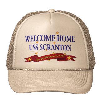 Welcome Home USS Scranton Trucker Hat