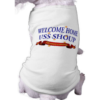 Welcome Home USS Shoup Tee