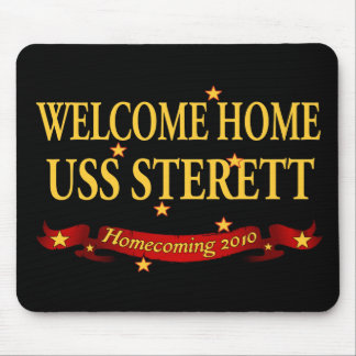 Welcome Home USS Sterett Mouse Pad