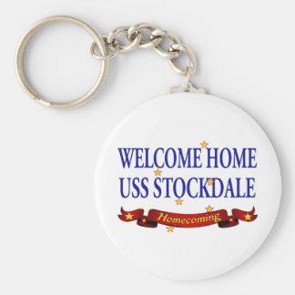 Welcome Home USS Stockdale Keychain