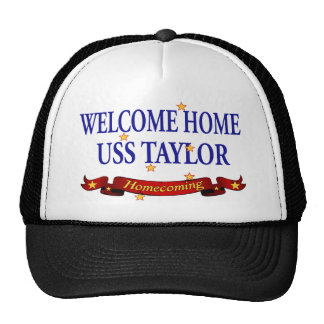 Welcome Home USS Taylor Trucker Hat