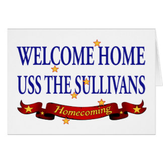 Welcome Home USS TheSullivans Cards