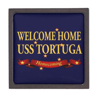 Welcome Home USS Tortuga Jewelry Box
