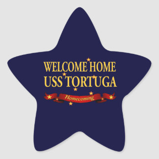 Welcome Home USS Tortuga Sticker