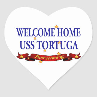 Welcome Home USS Tortuga Stickers