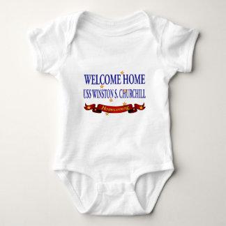 Welcome Home USS Winston S. Churchill Shirt