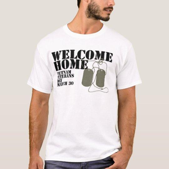 Welcome Home Vietnam Veteran Day T-Shirt