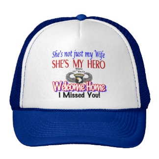 Welcome Home Wife Products Trucker Hat