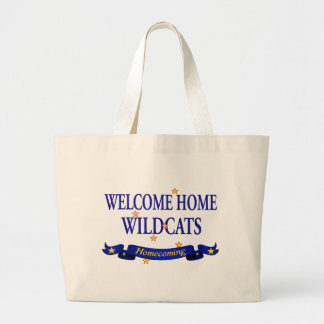 Welcome Home Wildcats Bag