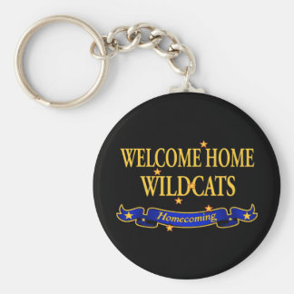 Welcome Home Wildcats Keychain
