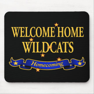 Welcome Home Wildcats Mouse Pad