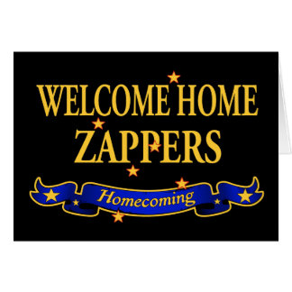 Welcome Home Zappers Card