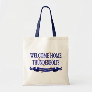 Welcome HomeThunderbolts Tote Bag