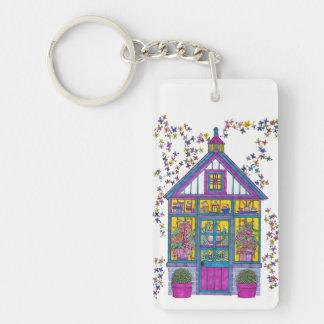 Welcome House Keychain