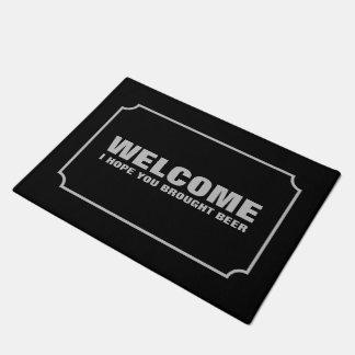 Welcome - I Hope You Brought Beer Doormat