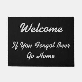 Welcome - If You Forgot Beer - Doormat