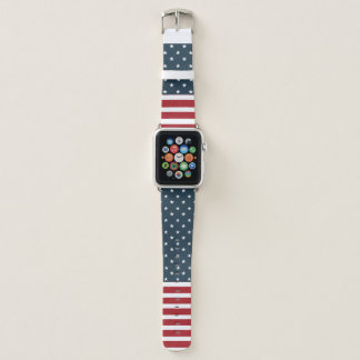Welcome Independence Apple Watch Leather Band