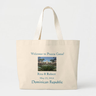 Welcome Jumbo Beach Bag Bridal Party Collection