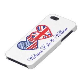 Welcome Kate & William/ Royal Wedding Case For iPhone SE/5/5s