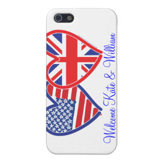 Welcome Kate & William/ Royal Wedding iPhone SE/5/5s Cover