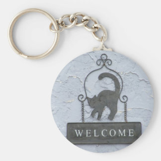 Welcome key ring
