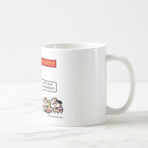 welcome kindergarten exit strategy coffee mug
