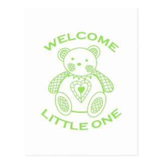 Welcome Little One Postcard
