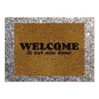 Welcome Mat Card