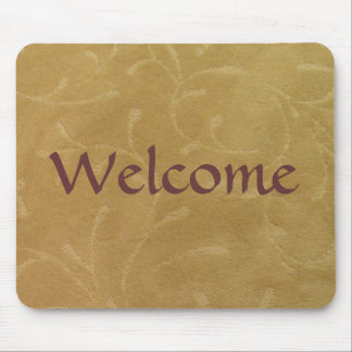 Welcome Mat Mouse Pad