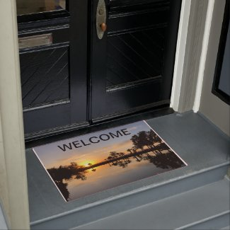 Welcome Mat Sunset