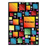 Welcome Mosaic Cards