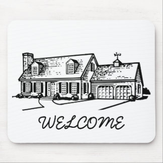 Welcome Mouse Pad